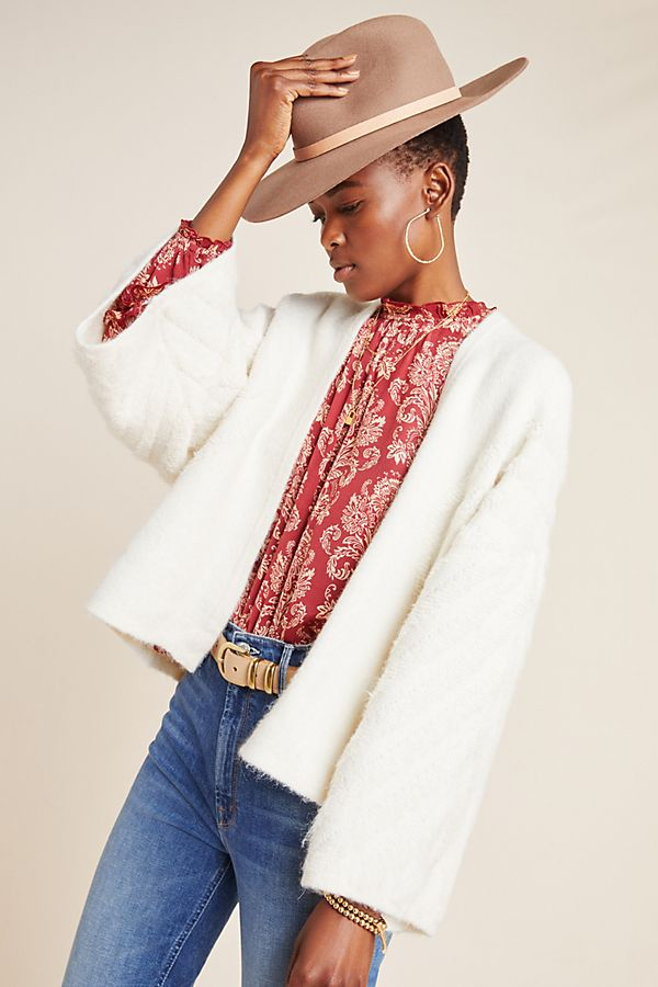 Slide View: 1: Tyler Cropped Cardigan