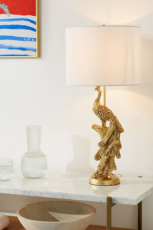 Slide View: 1: Pavo Table Lamp
