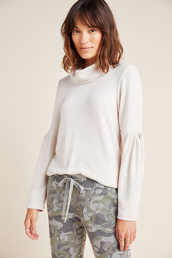 Slide View: 1: Rachael Turtleneck Pullover