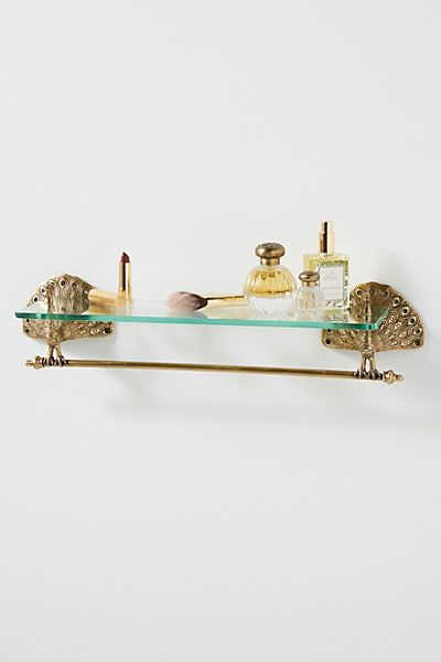 Ida Peacock Glass Shelf
