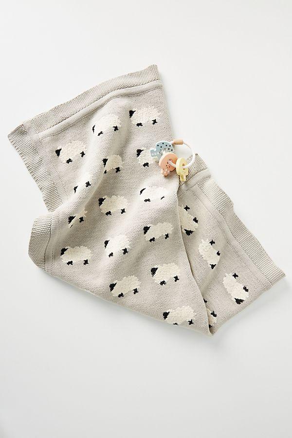 Slide View: 1: Little Bo Peep Baby Blanket