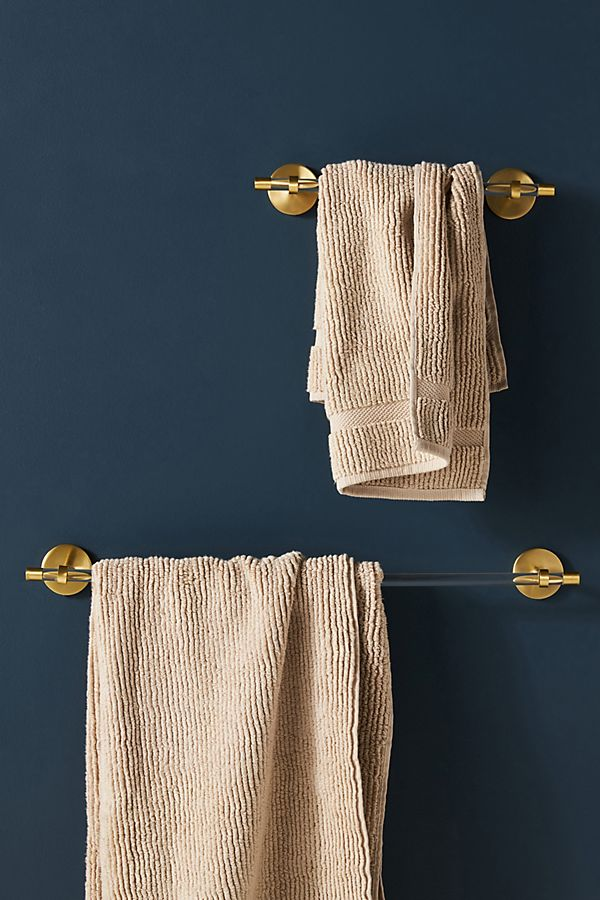 Slide View: 1: Mikayla Lucite Towel Bar