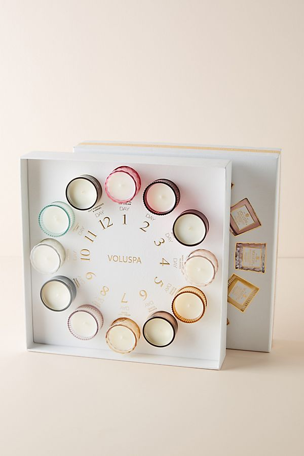Slide View: 1: Voluspa 12 Days of Gifting Candle Set