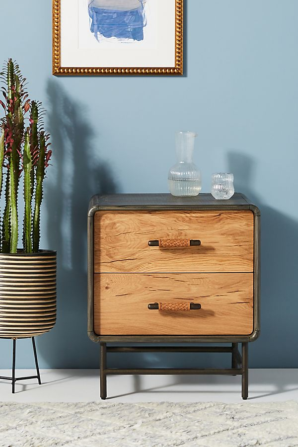 Slide View: 1: Bobbin Nightstand