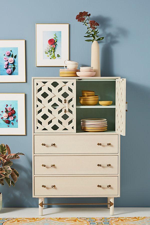Slide View: 1: Carroway Storage Cabinet