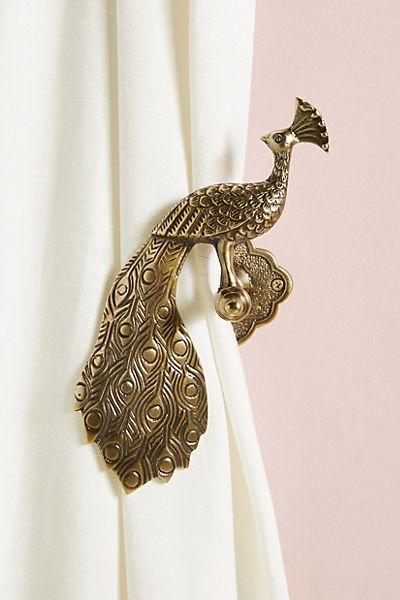 Ida Peacock Tieback