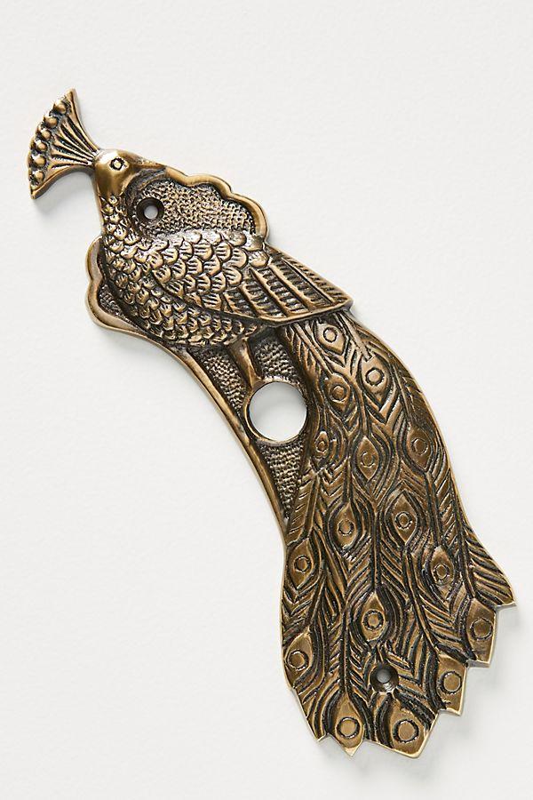 Slide View: 1: Ida Peacock Doorbell Cover