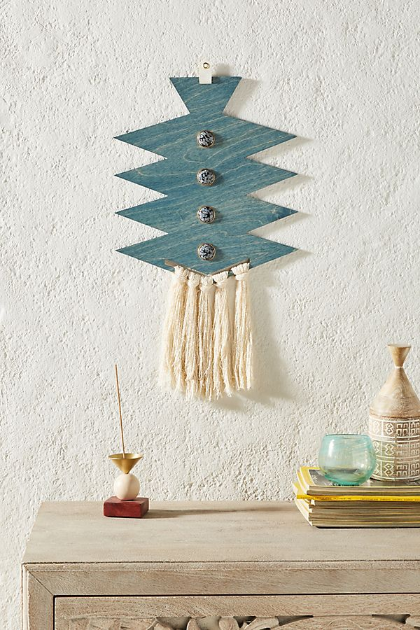 Slide View: 1: Indigo Wall Hanging