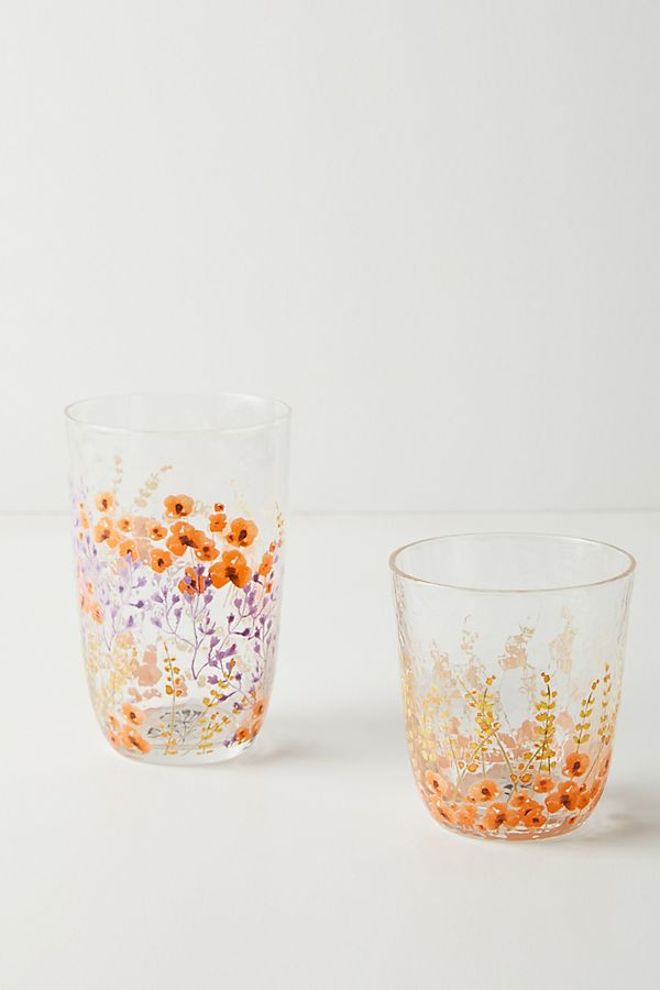 Slide View: 2: Clemence Tumblers, Set of 4