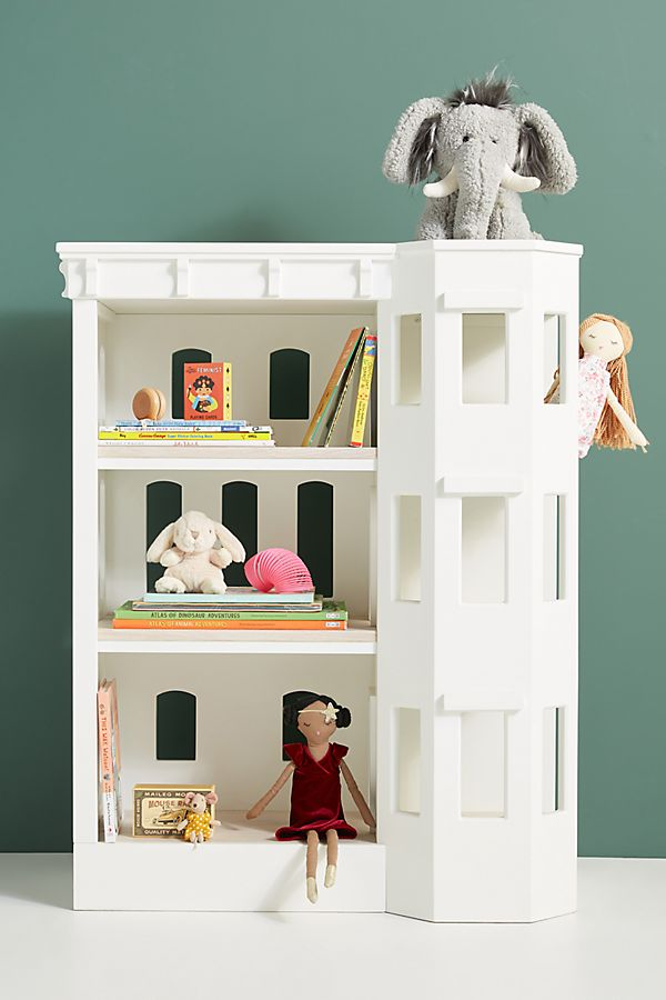 Slide View: 1: Brownstone Bookshelf
