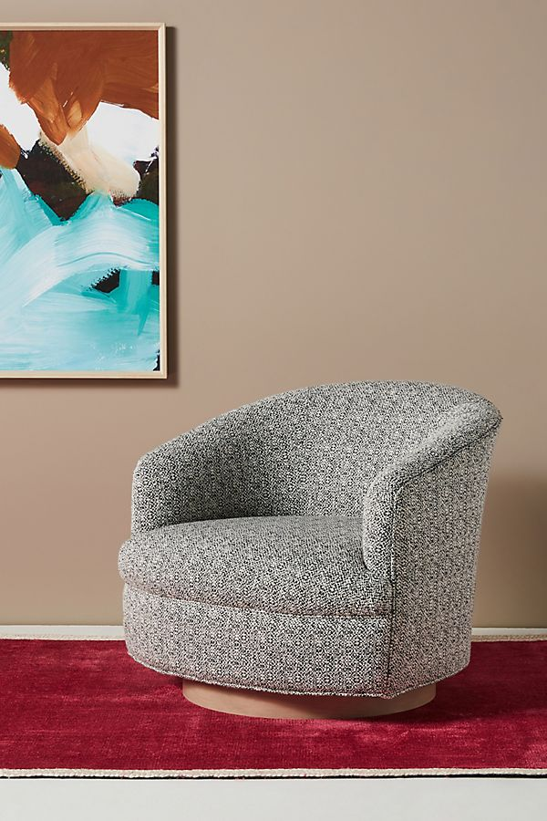 Slide View: 1: Amoret Swivel Chair