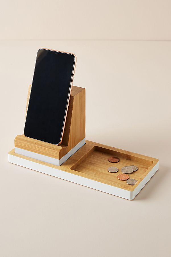 Slide View: 1: Bamboo Charging Station