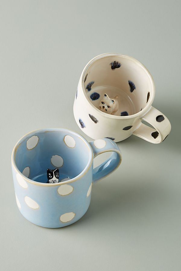 Slide View: 1: Pet Figurine Mug