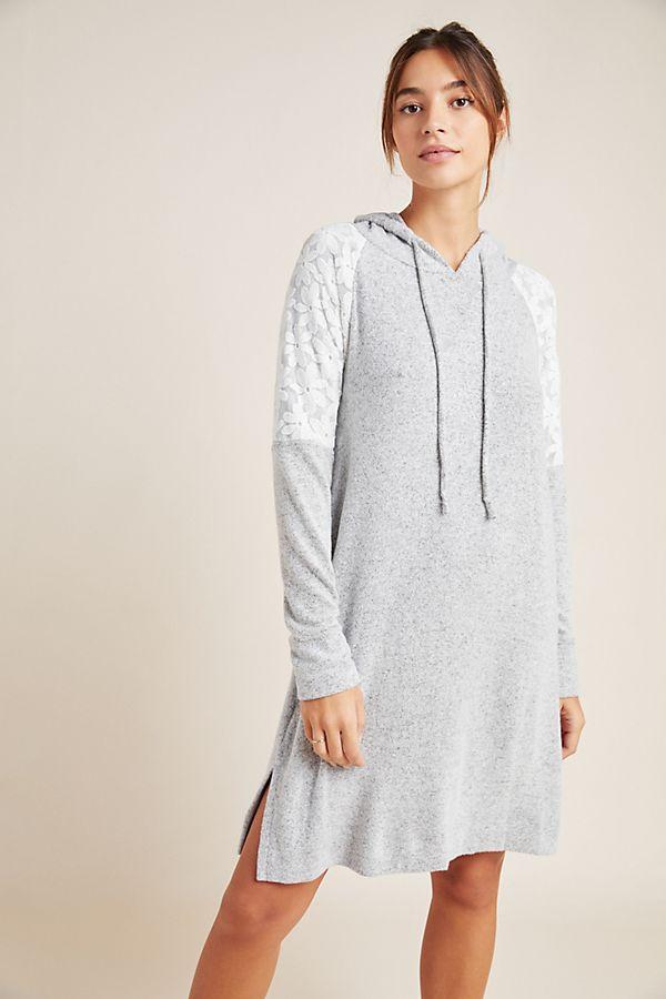 Slide View: 1: Flora Nikrooz Genna Hooded Sleep Shirt