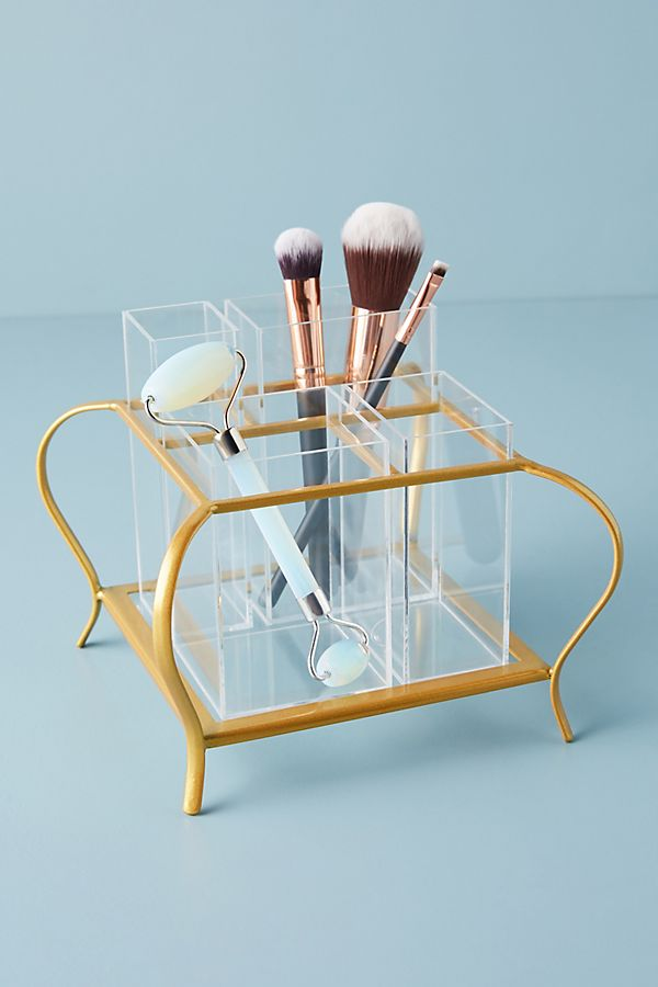 Slide View: 2: Audrey Makeup Organizer