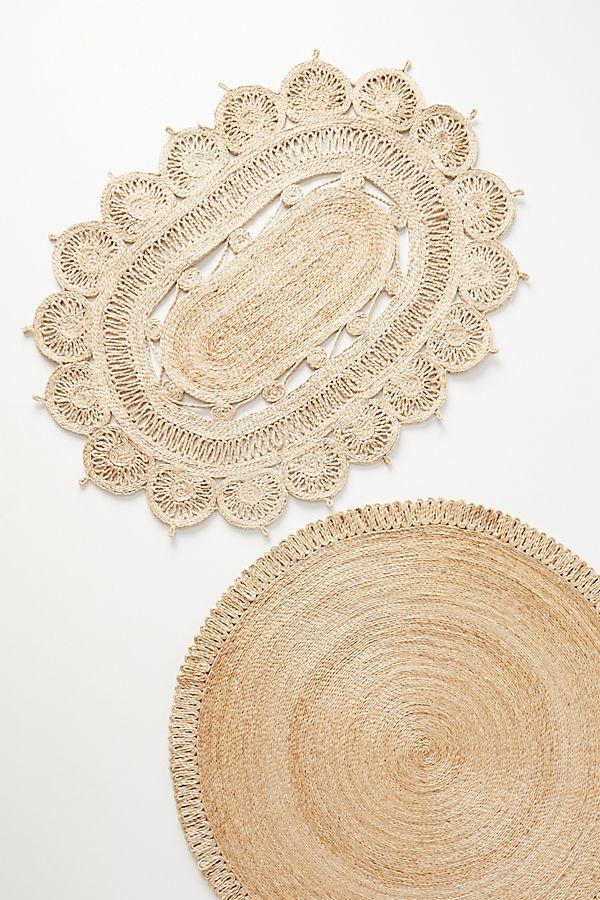 Slide View: 1: Spiraled Jute Doormat