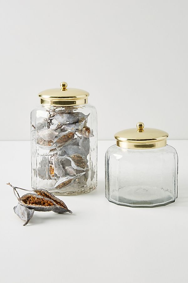Slide View: 1: Janie Glass Canister