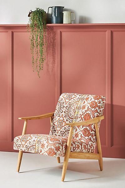 Rug-Printed Armchair