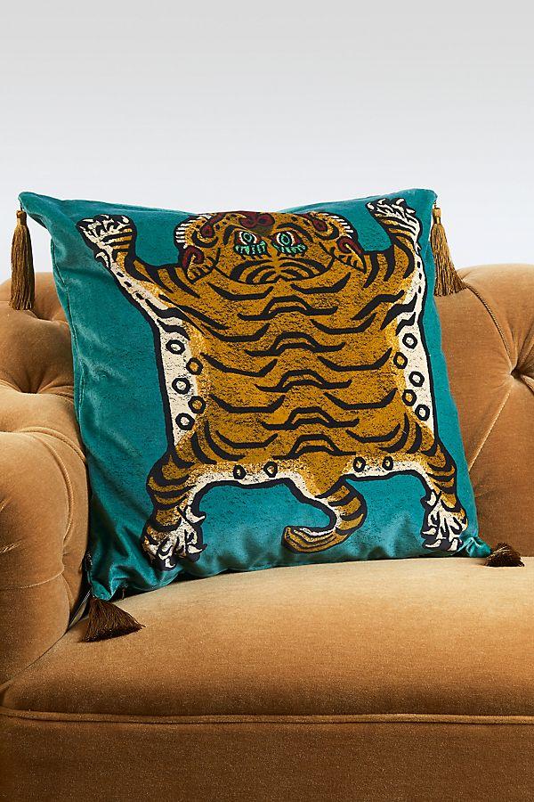 Slide View: 1: House of Hackney Saber Velvet Pillow
