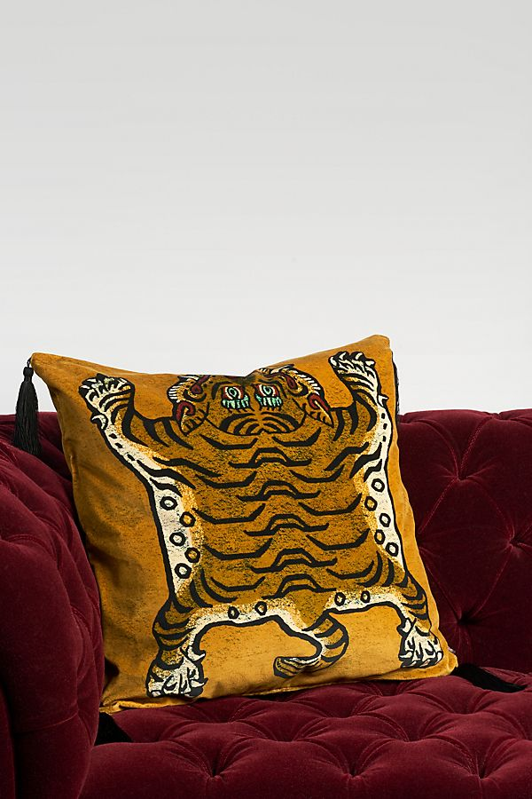 Slide View: 1: House of Hackney Saber Velvet Pillow