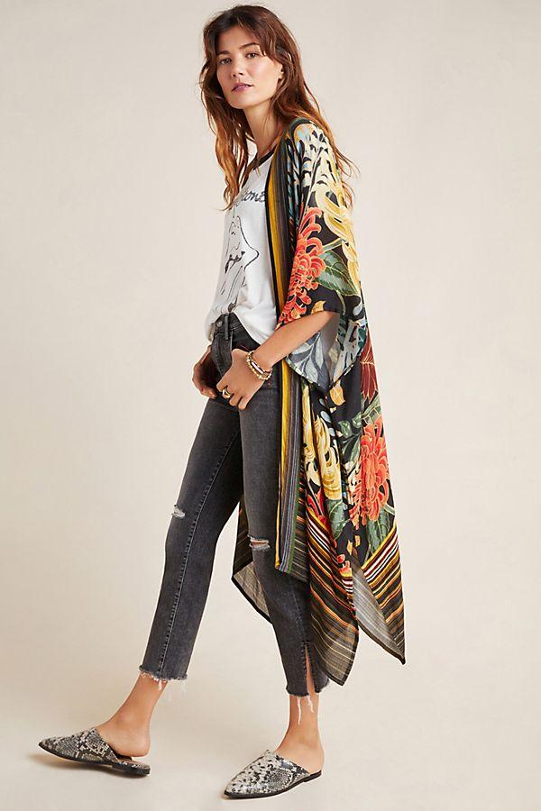 Slide View: 1: Janis Duster Kimono