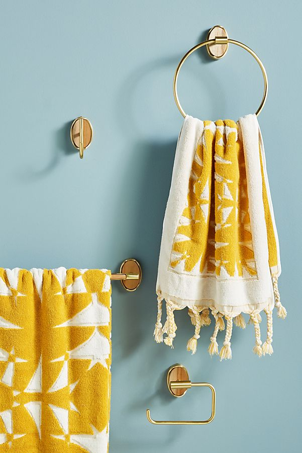 Slide View: 2: Elspeth Towel Ring
