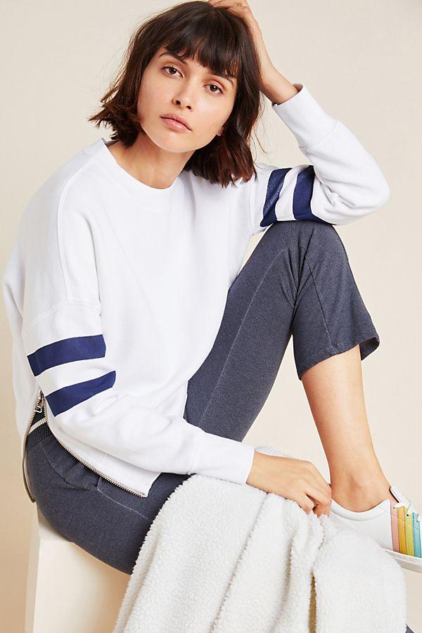 Slide View: 1: Sundry Side-Zip Sweatshirt