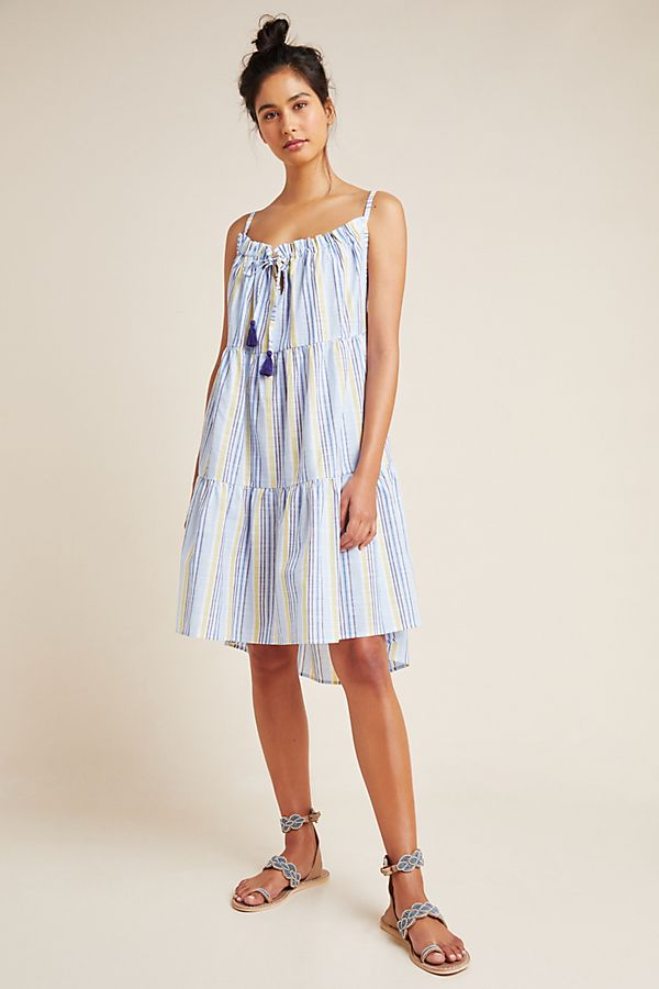Slide View: 1: Anthropologie Bianca Tiered Cover-Up Dress