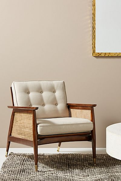 Nadia Caned Accent Chair