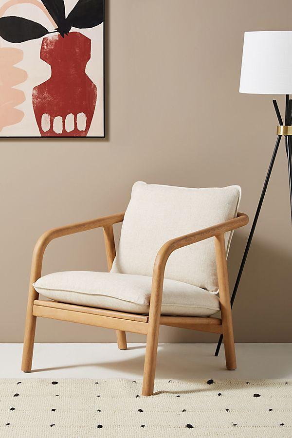 Slide View: 1: Laurel Lounge Chair
