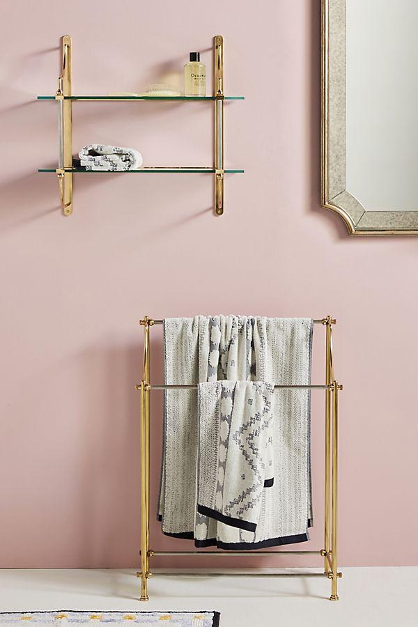 Slide View: 1: Sylvie Standing Towel Rack