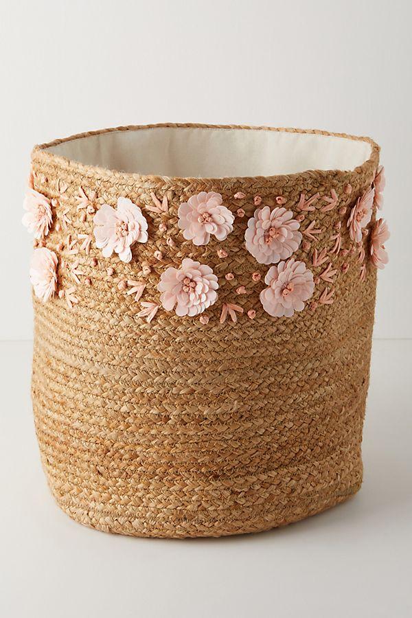Slide View: 1: Malia Embellished Basket