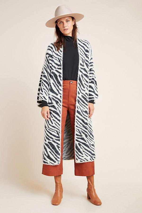 Slide View: 1: Flynn Zebra Kimono