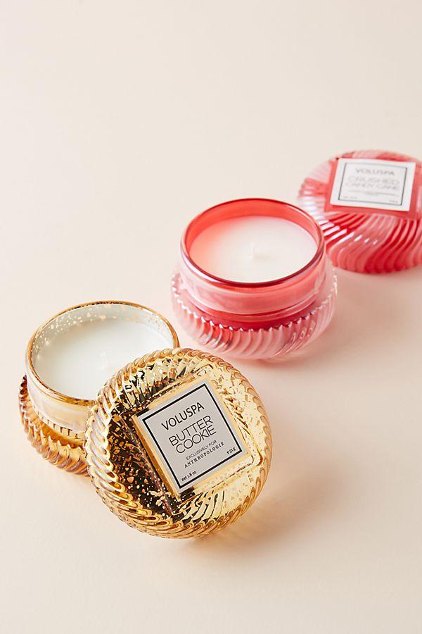 Slide View: 1: Voluspa Macaron Candles, Set of 2