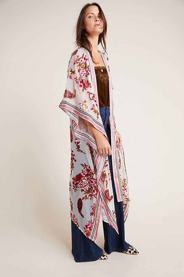 Slide View: 1: Cosette Duster Kimono