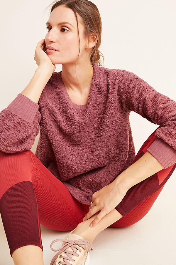 Slide View: 1: Luella Textured Pullover
