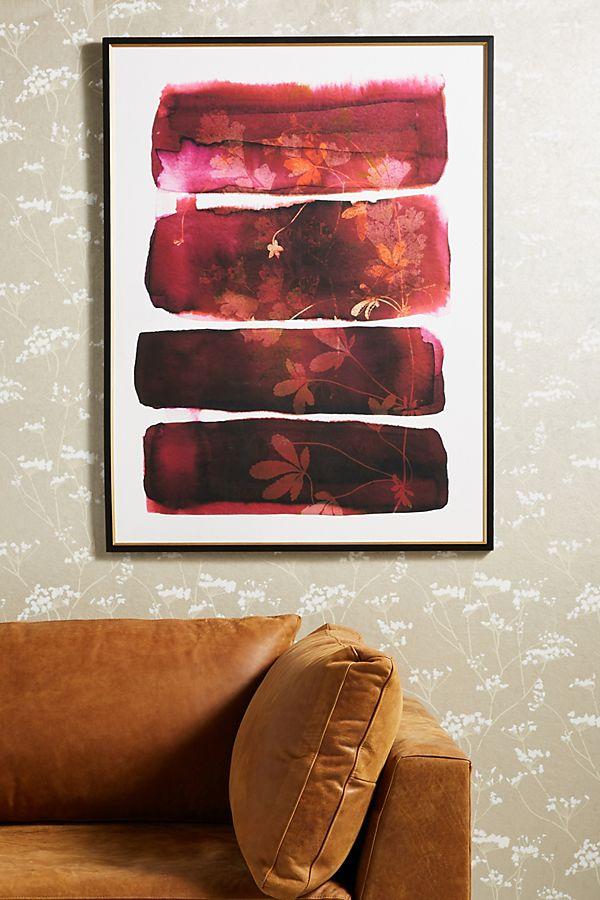 Slide View: 1: Eco Print Wall Art