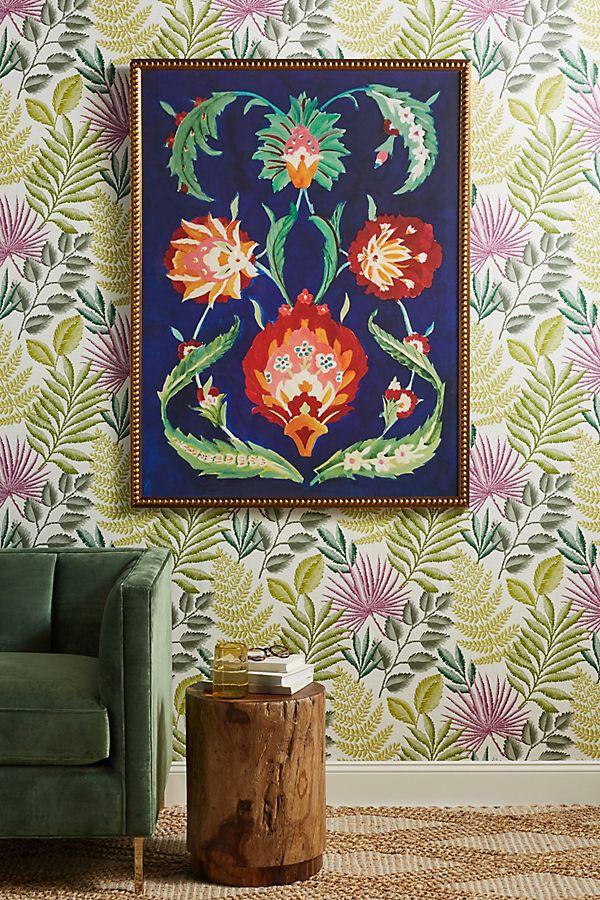 Slide View: 1: Persian Garden Wall Art