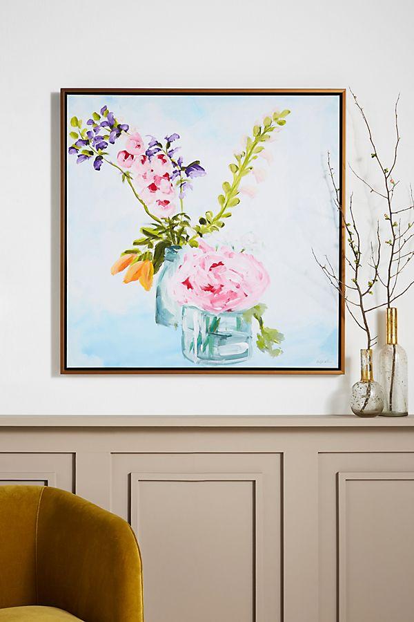 Slide View: 1: Last Sunday's Bouquet Wall Art