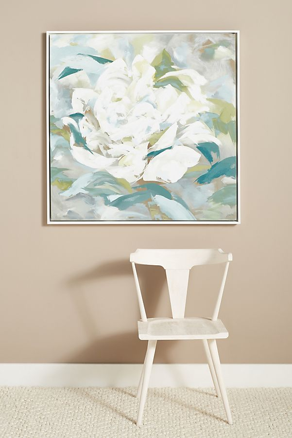 Slide View: 1: Into White Blossoms Wall Art