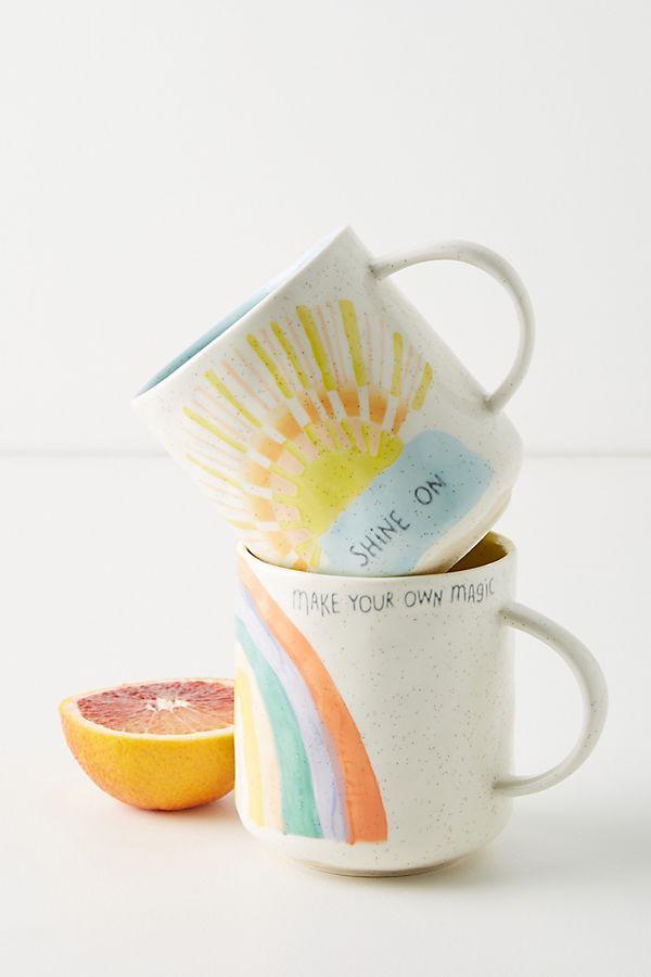 Slide View: 1: Positive Vibes Mug