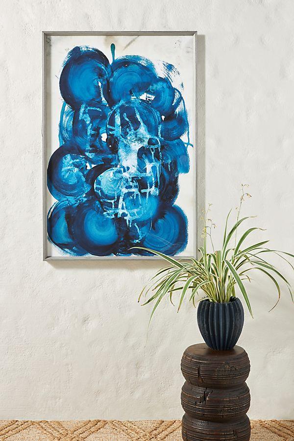 Slide View: 1: Agate 1 Ocean Wall Art