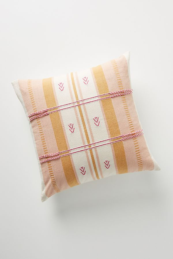 Slide View: 1: Woven Naima Pillow
