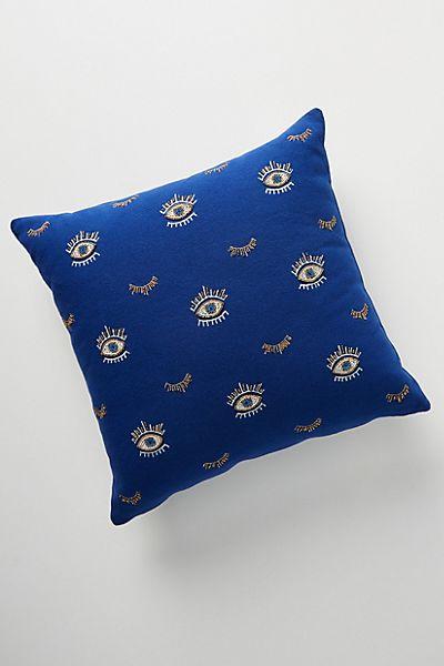 Beaded Wink Pillow