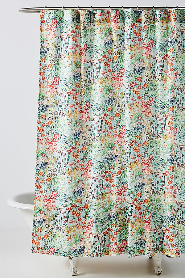 Slide View: 1: Angelle Shower Curtain