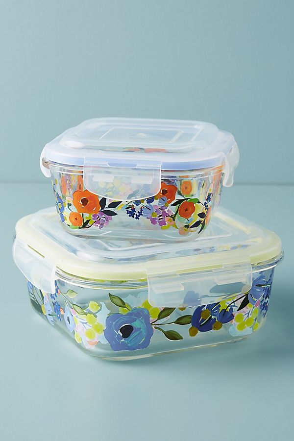 Slide View: 1: Remi Glass Storage Container
