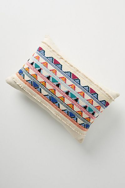Hand-Knotted Alba Pillow