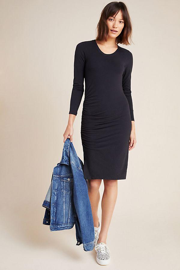 Slide View: 1: Sundry Ruched Mini Dress