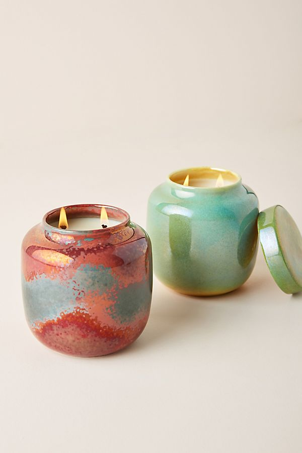 Slide View: 1: Lyngard UK Bone China Candle