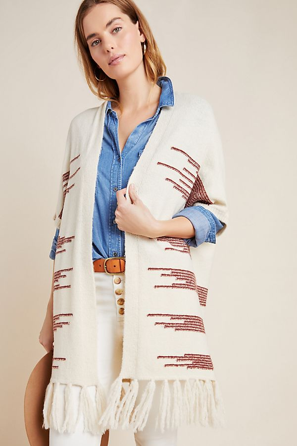 Slide View: 1: Canyon Fringed Wrap